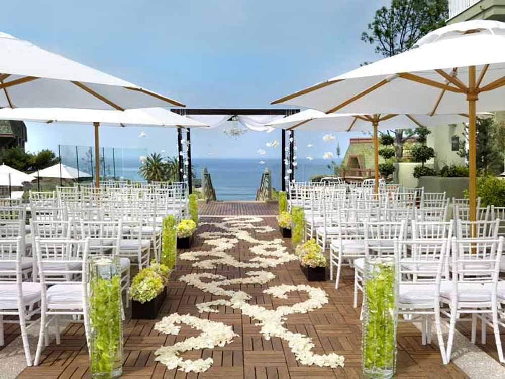Beach wedding decorations junglespirit Image collections