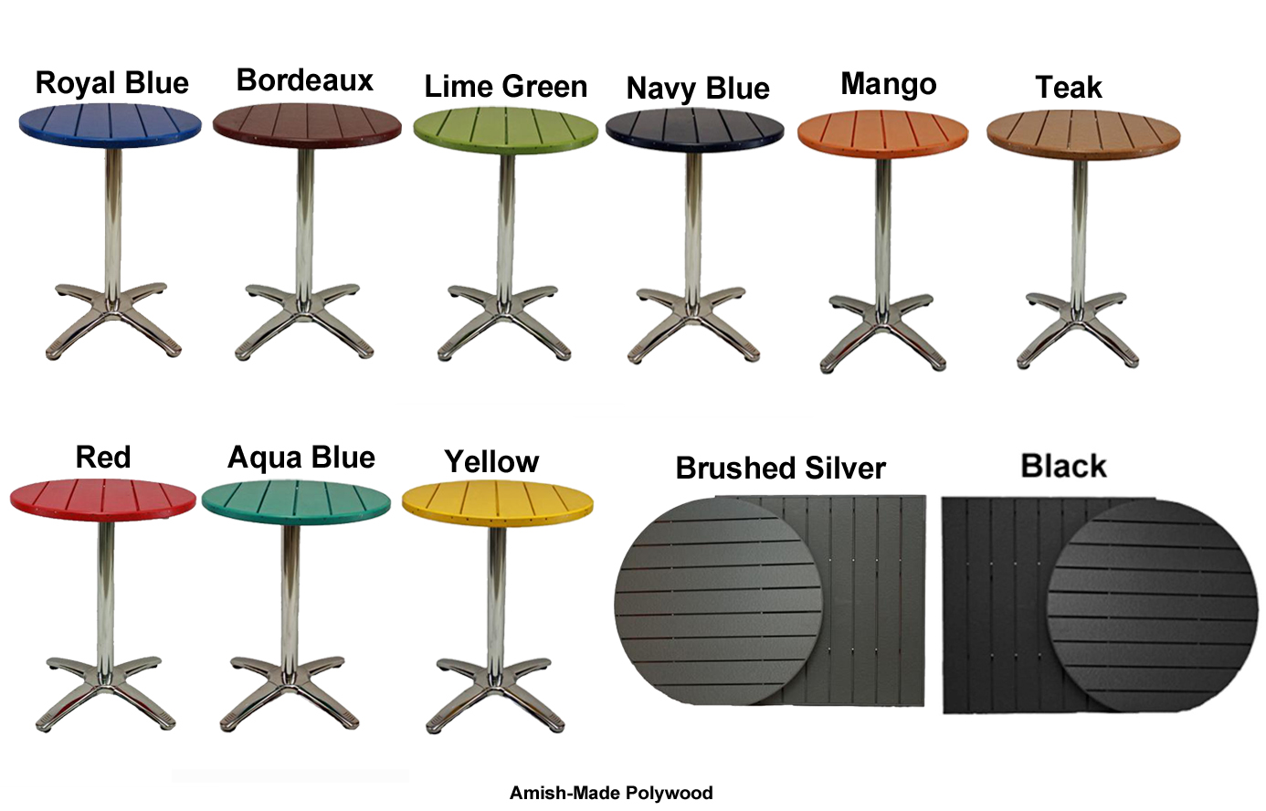 Commercial Outdoor Furniture - Outdoor table tops restaurant