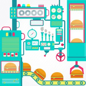 Restaurant Automation includes technologies for ordering, serving, and producing food.