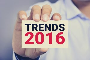 2016 Trends in the restaurant industry