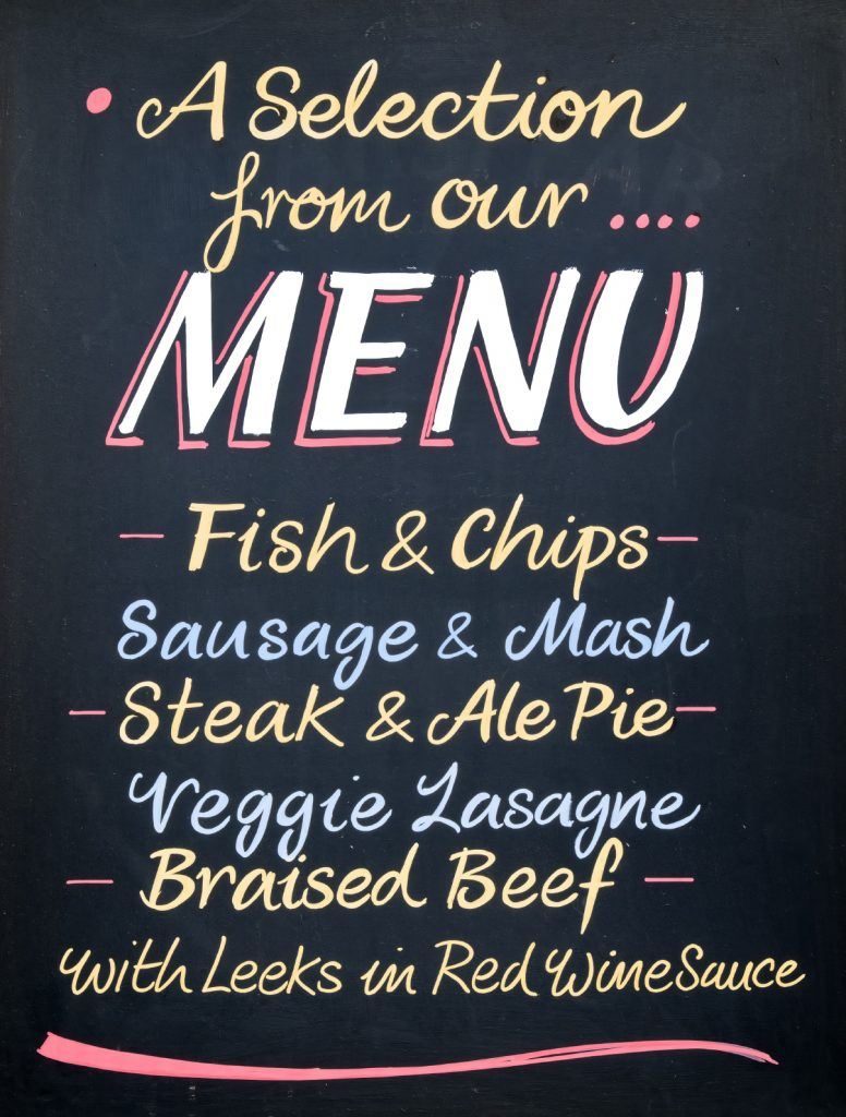 Small menus are easier to maintain and keep food costs and waste down.
