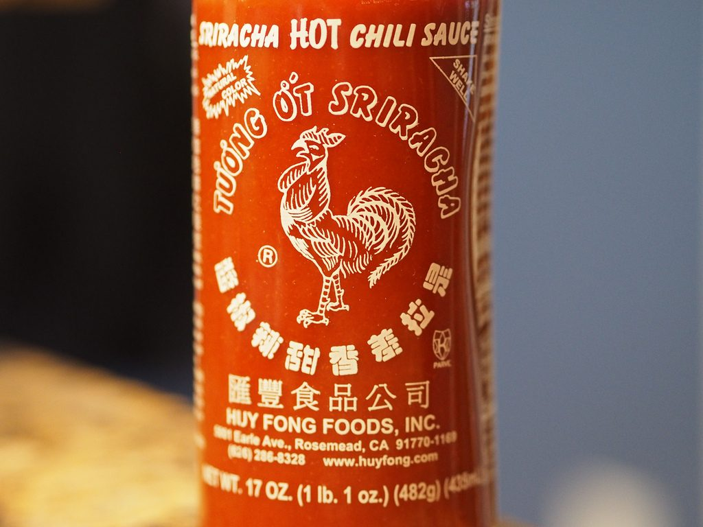 Ethnic foods like Sriracha sauce are taking the culinary world by storm