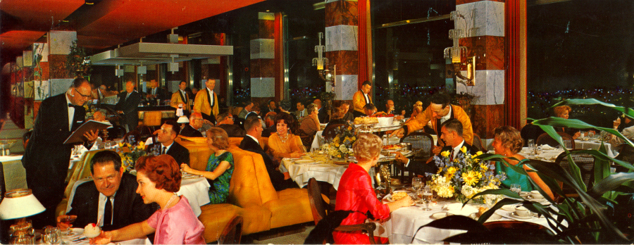 Dining in the 60's