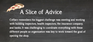 Slice of Advice- Be Organized