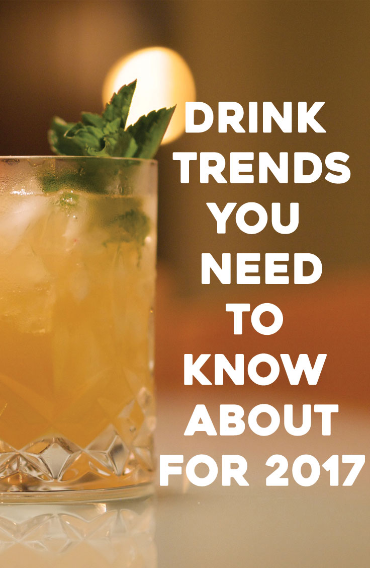 Cocktail Drink Trends