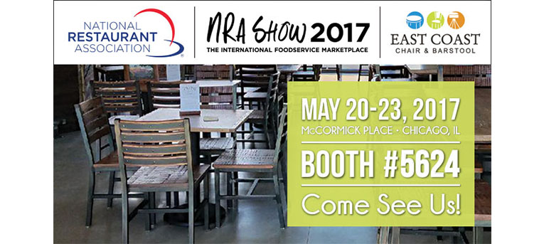 Come see us at the National Restaurant Association Trade Show May 20-23 in Chicago!