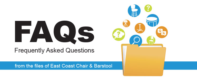 What are bar stool swivels? FAQ's from the files of East Coast Chair & Barstool