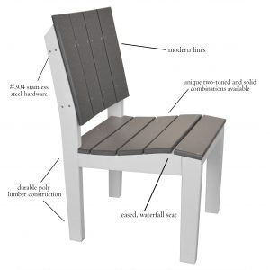 Lake Shore Side Chair Features