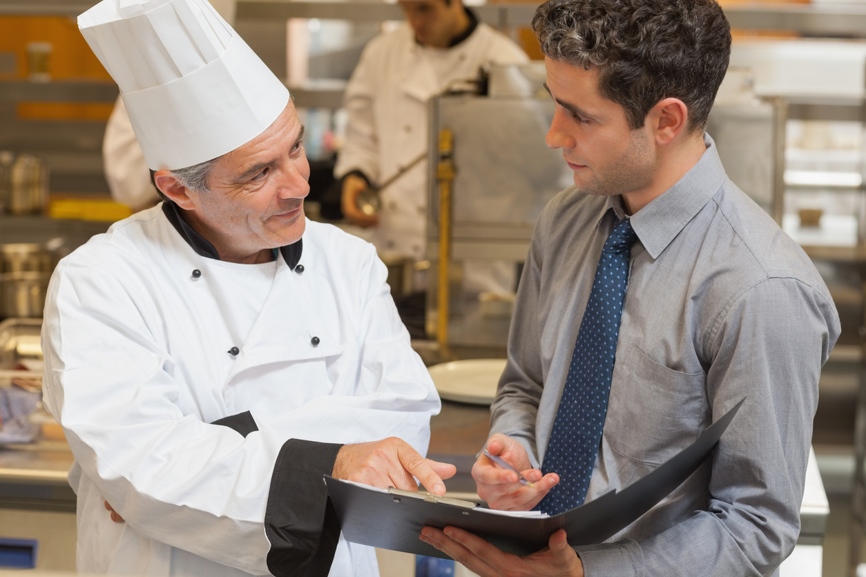 Chef and Inspector - OSHA for Restaurants