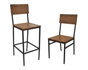 Henry Bar Stool and Chair