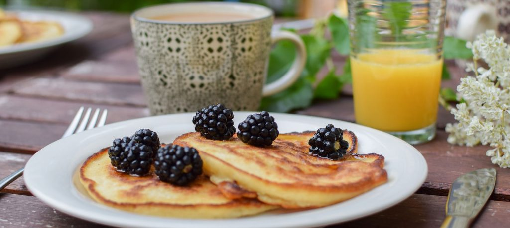 BlackBerry Pancakes