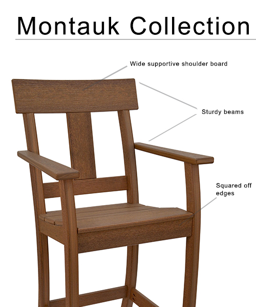 Montauk Collection Bar Stool