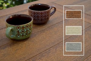 Textured Wood Grain Finish Options