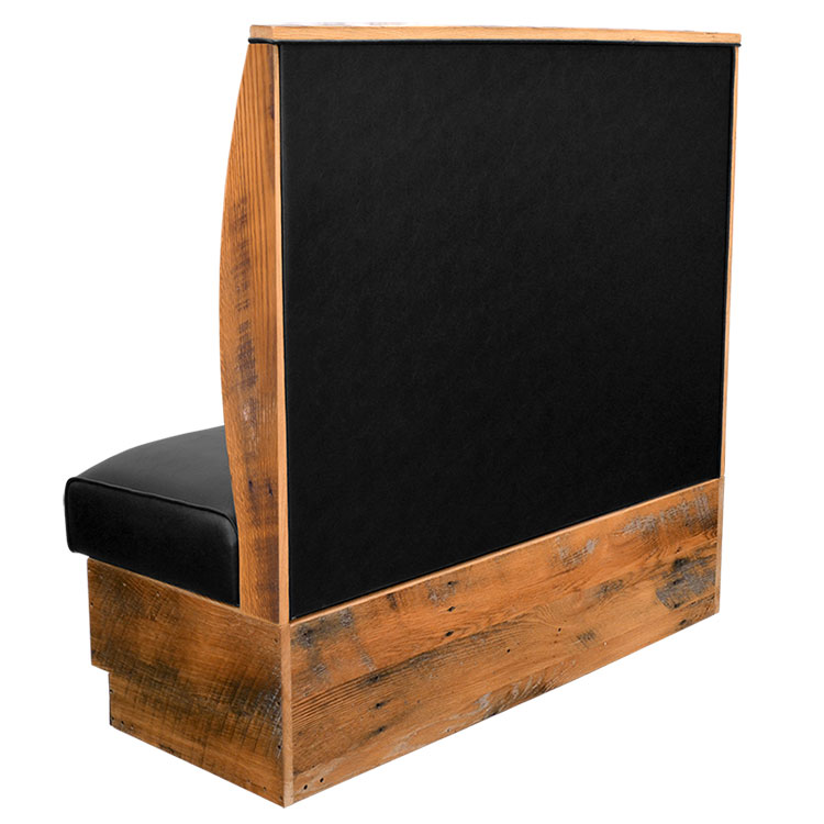 Orchard Booth - Single - Back View