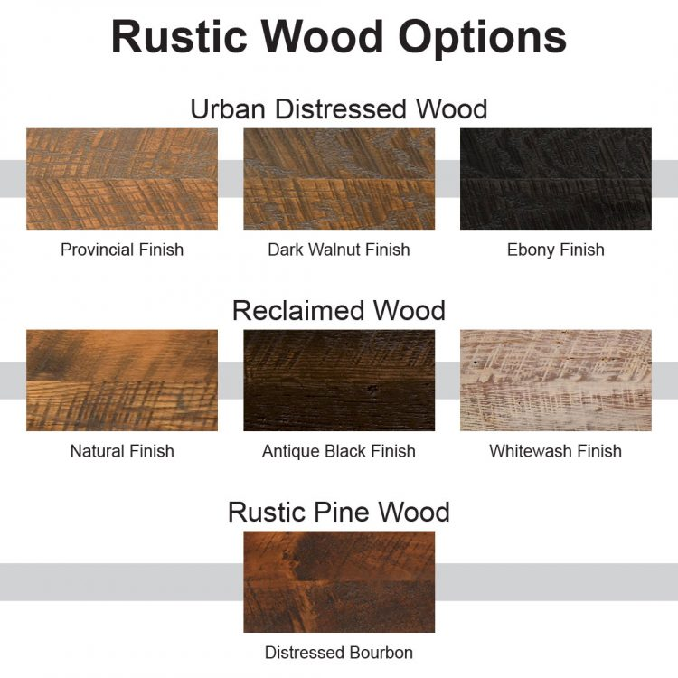 Rustic Wood Options
