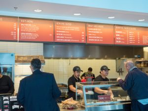 Fast Casual Restaurant Line