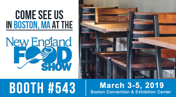 New England Food Show - East Coast Chair & Barstool Tradeshows