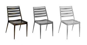 Distressed Black, Distressed Gray, and Distressed White Hendrix Chairs